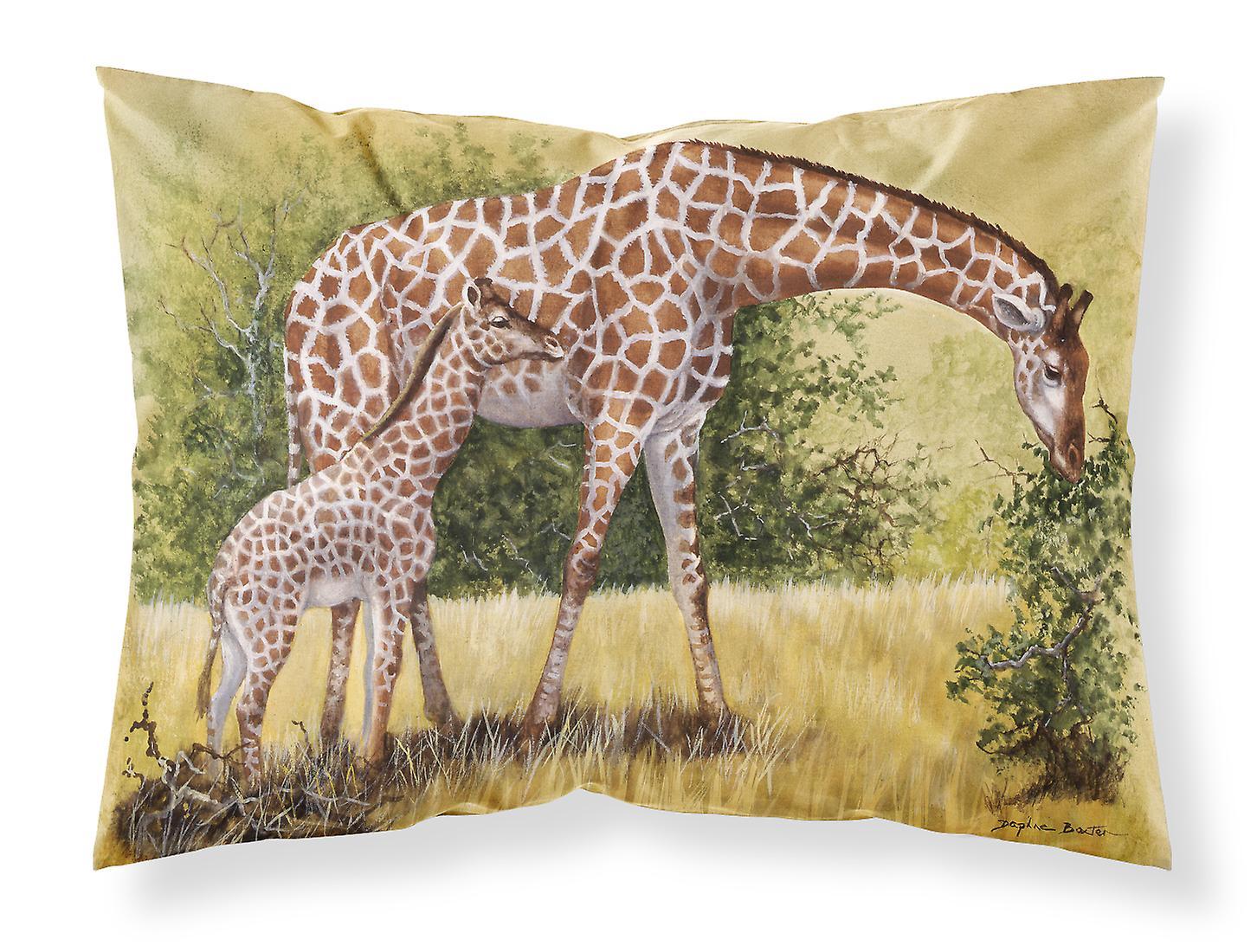 Daphne Girafes Par Tissu Taie Standard D'oreiller Baxter Ok0Pnw