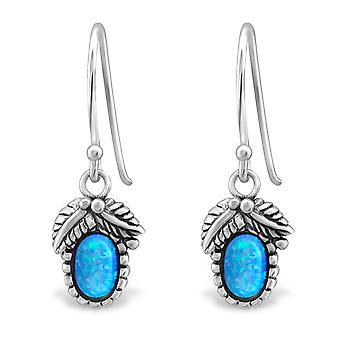 Fruit - 925 Sterling Silver Opal and Semi Precious Earrings