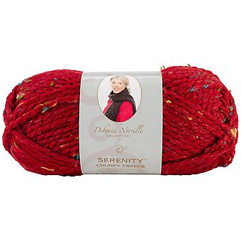 Deborah Norville Collection Serenity Chunky Tweed Yarn-Claret DN900-2