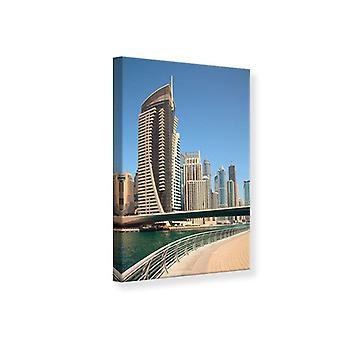 Lærred Print Walk i Dubai