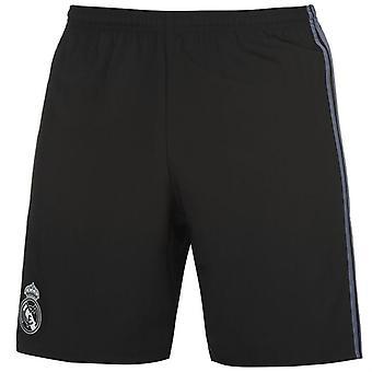 2016-2017 Real Madrid Adidas Third Shorts (Black) - Kids