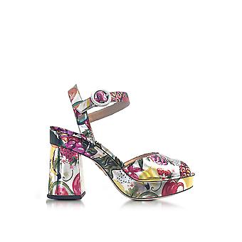 Charlotte Olympia S1752501330 multicolour ladies leather sandals