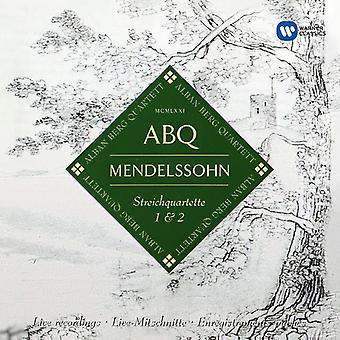 Mendelssohn / Berg, Alban - stråkkvartetter Op 12 & Op 13 [CD] USA import
