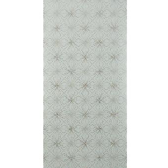 Blendworth Blue & Grey Wallpaper Roll - Paper Trail Starburst Design - BL-0905
