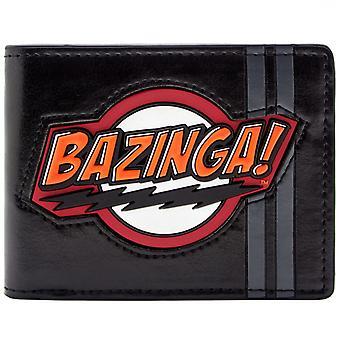 Big Bang teorien Sheldon Bazinga! ID & Card Bi-Fold tegnebog