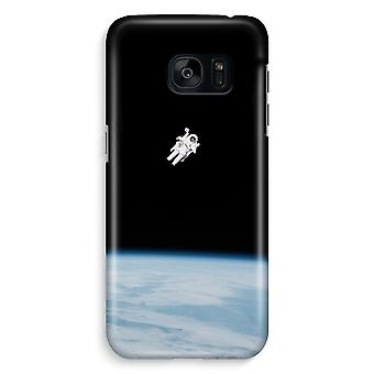 Samsung S7 Edge Full Print Case - Alone in Space