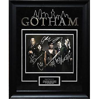 Gotham - Signed by Cast- Framed Artist Series