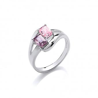 Cavendish French 'Colour Me Beautiful' Twin CZ Ring