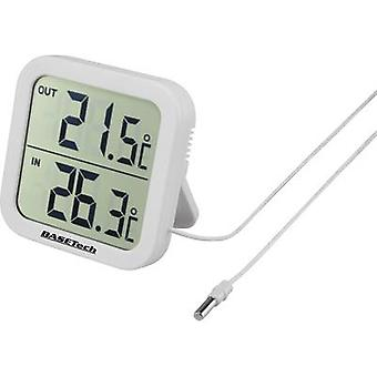 Corded thermometer Basetech White