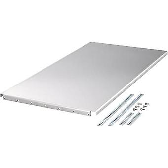 Schroff 20860-109 48.26 Cm (19)-plug-in MultipacPRO Chassis Plate (W x H x D) 412 x 2 x 270 mm