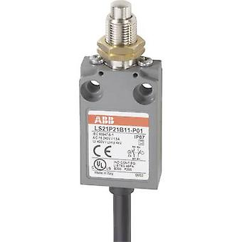 Limit switch 400 Vac 5 A Tappet (+ thread) momentary