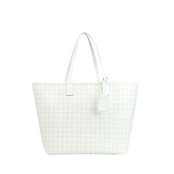 Protection women's MCGLBRE03157E White leather tote