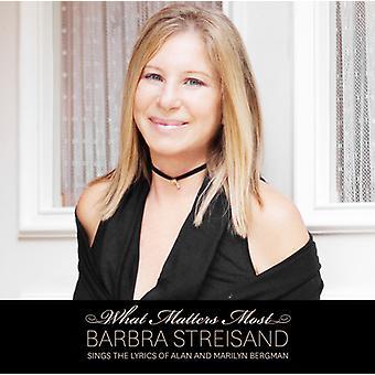 Barbra Streisand - What Matters Most Barbra Streisand Sings the Lyric [CD] USA import