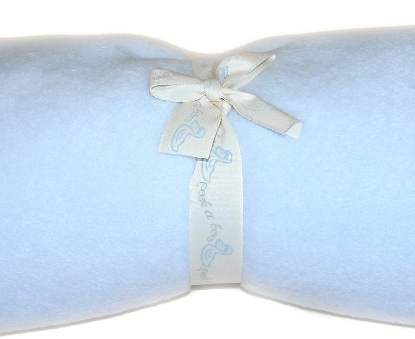 Pastel Blue Fleece Baby Sack (Reversible)