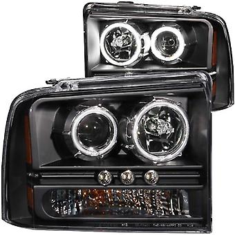 Anzo USA 111117 Ford Black Projectors with Halos Headlight Assembly - (Sold in Pairs)