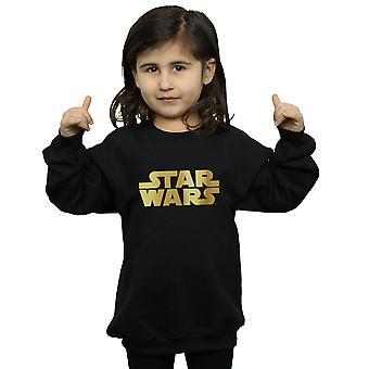 Star Wars Girls Gold Logo Sweatshirt