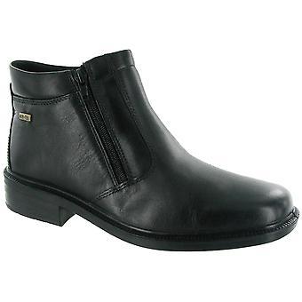 Cotswold Mens Kelmscott Leather Waterproof Chelsea Dealer Boot Black