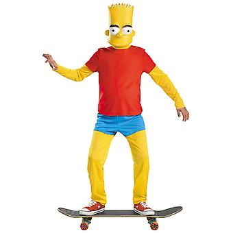 Bart Simpson The Simpsons Deluxe Padded Belly Cartoon Funny Boys Costume