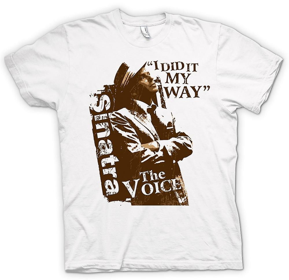 Womens T-shirt - Frank Sinatra My Way - The Voice