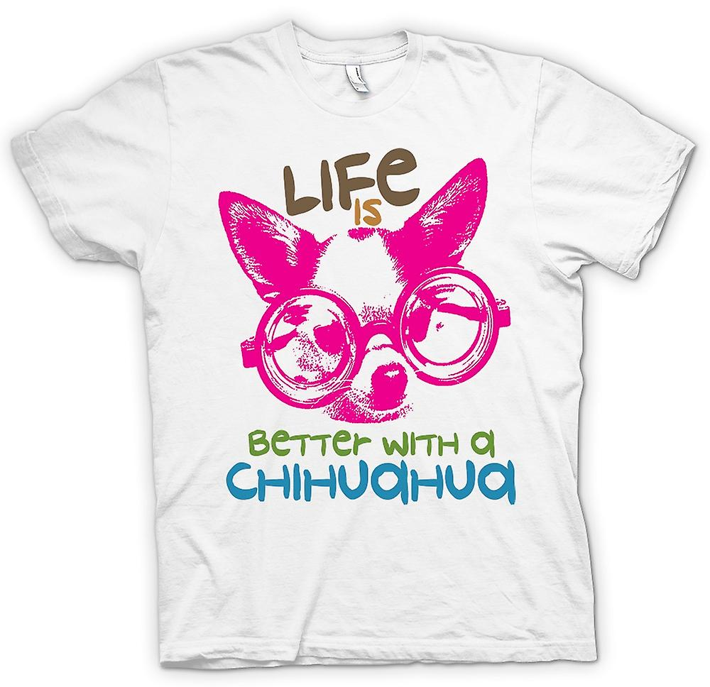 Womens T-shirt - Life Is Better With A Chihuahua