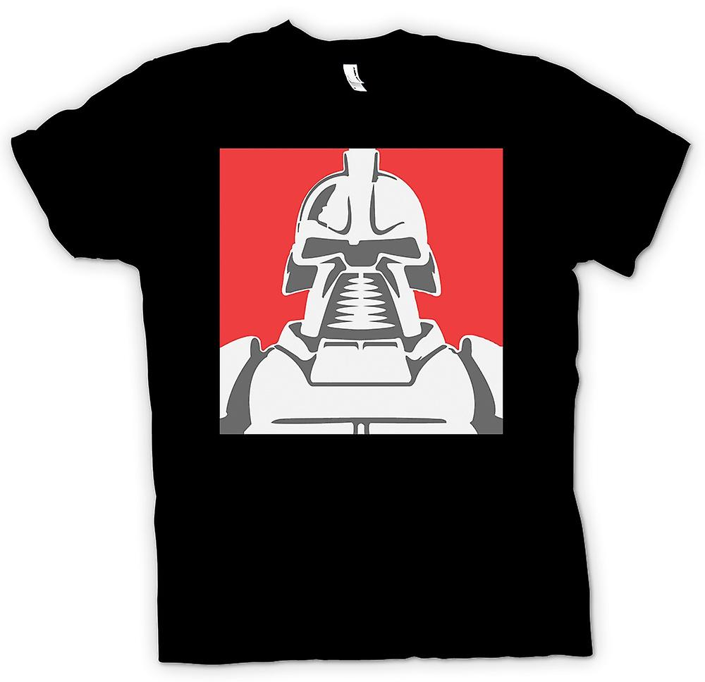 Womens T-shirt-Cyclon-Battle Star Galactica