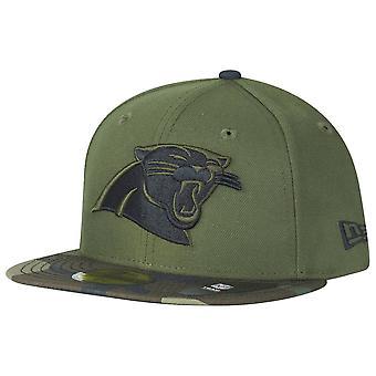 New Era 59Fifty Cap - Carolina Panthers wood camo