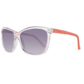 Guess sunglasses women's transparent