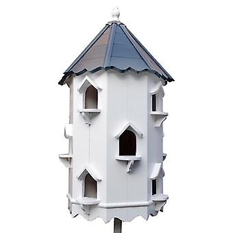 Beautiful Birdhouse Co 6-Sided Painted Roof Dovecote