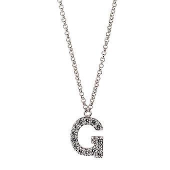 Alfabeto de Orphelia plata 925 G con cadena 40-44 Cm ZK-alfa/G
