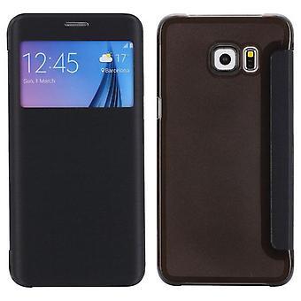Smartcover Window Schwarz für Samsung Galaxy S6 Edge Plus G928 F