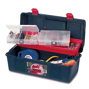 Tayg Plastic tool box with tray (DIY , Tools , Inventory systems , Storage)