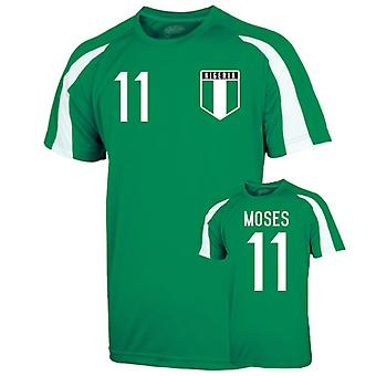 Nigeria Sports Training Jersey (moses 11)