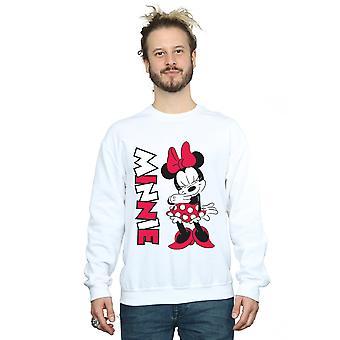 Minnie Mouse masculine Disney rire Sweatshirt