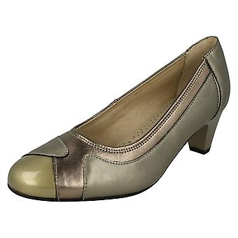 Ladies Padders Elegant Court Shoes Jewel