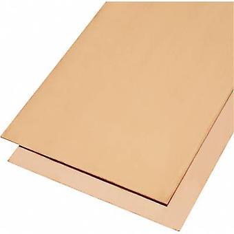 Copper Sheet metal Reely (L x W) 400 mm x 200 mm