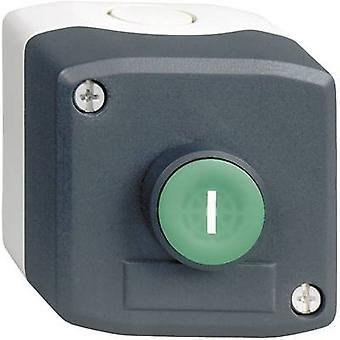 Pushbutton + enclosure Green Schn