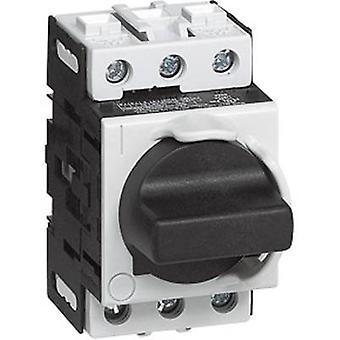 BACO 174105 Isolator switch 32 A 1 x 90 ° Grey, Black 1 pc(s)