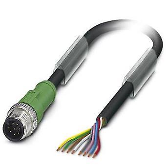 Sensor/Actuator cable SAC-8P-M12MS/ 1,5-PUR 1522493 Phoenix Contact