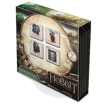 Der Hobbit-Satz von 4 Kork unterstützt Getränke Untersetzer