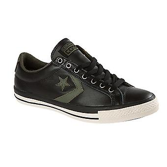 Converse star Plyr EV ox leather sneaker men black