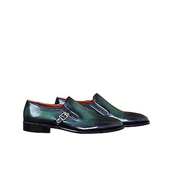 Handcrafted Premium Leather Paulo G Monk Shoe