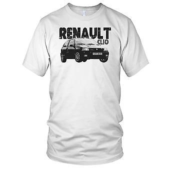 Renault Clio fransk klassisk bil damer T skjorte