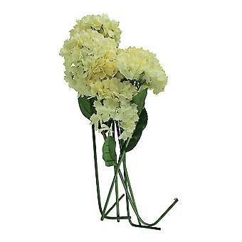 6 крем гортензии искусственный цветок стебель набор