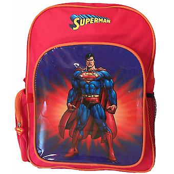 Backpack Outdoors Superman Red