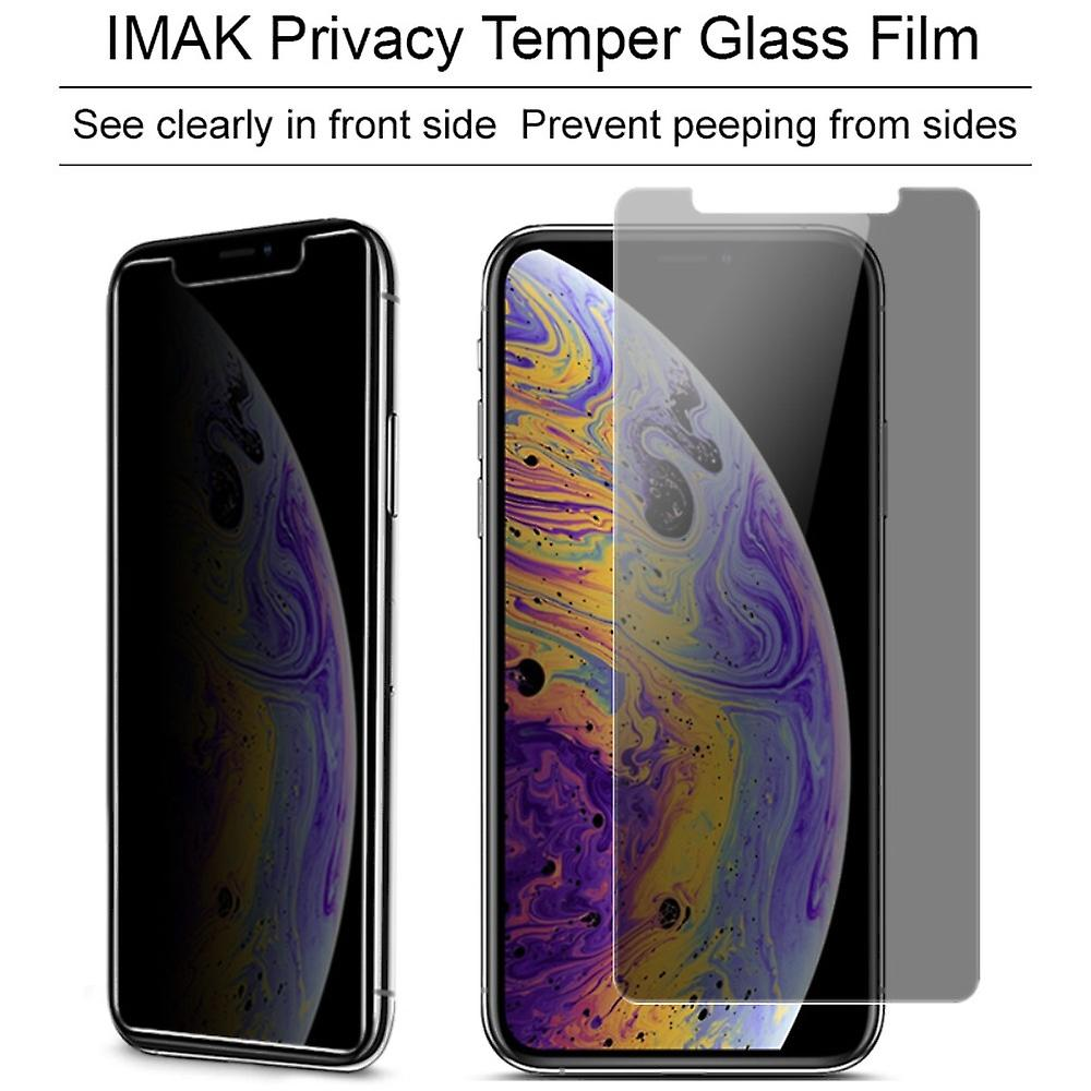 Apple iPhone XS Max view protection armor protection glass anti-spy film 9 H - 10 pieces