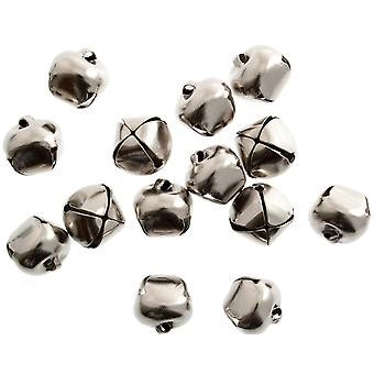 8 Silver 12mm Jingle Bells for Crafts | Craft Bells