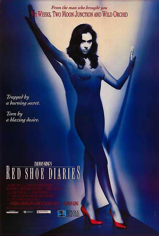 rosso scarpe scarpe scarpe diaries locandina (27 x 40)   Qualità e consumatori in primo luogo  5387eb