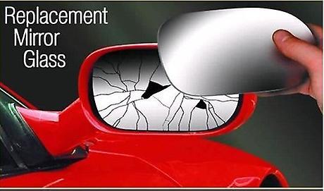 Left Passenger Side Stick-On Mirror Glass for FORD MONDEO IV 2007-2014