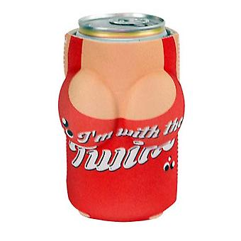 In With The Twins Boobzie Can Cooler