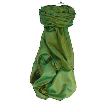 Varanasi Silk Long Scarf Heritage Range Anand 9 Jade by Pashmina & Silk